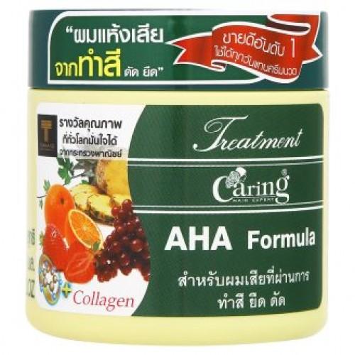 Тайская маска для волос Фруктовые кислоты Caring AHA Formula 250 мл