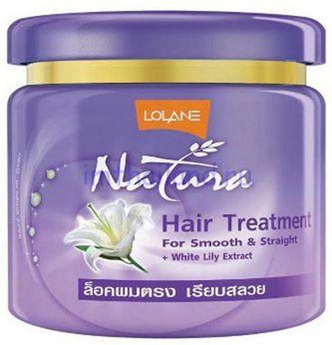 Маска для волос с белой лилией Lolane 500 гр