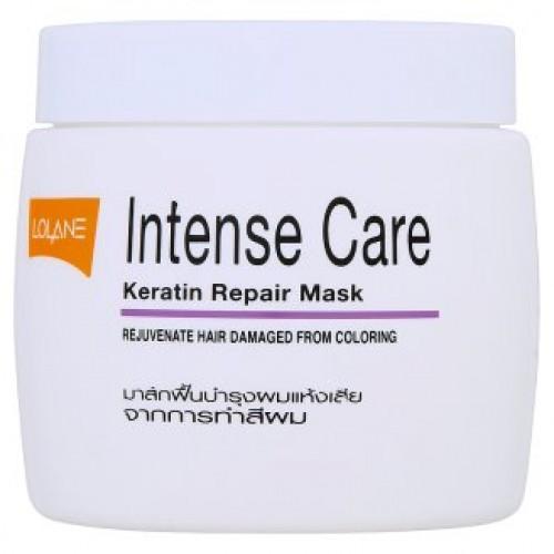 Тайская маска для волос с кератином Lolane Intense 200 гр