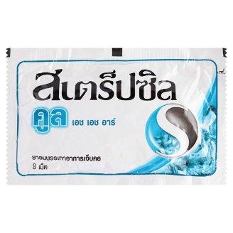 Тайские леденцы от кашля Свежесть Strepsils Cool 8 шт