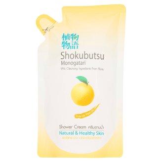Гель для душа Апельсиновое масло Shokubutsu дой-пак 200 мл