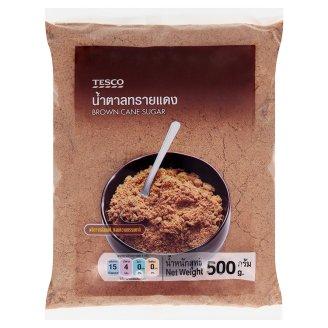 Сахарная пудра тростниковая Tesco Brown Cane Sugar 500 гр