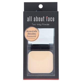 Компактная пудра маскирующая тон С1 светлый All About Face 12 гр