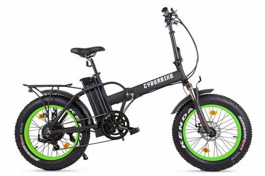 Велогибрид Cyberbike 500 Вт Черный с зеленым