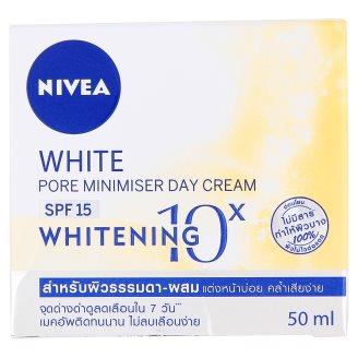 Крем для лица дневной отбеливающий с УФ-защитой Nivea 50 мл
