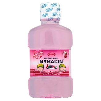 Детский ополаскиватель для рта клубничный Mybacin Junior 95 мл
