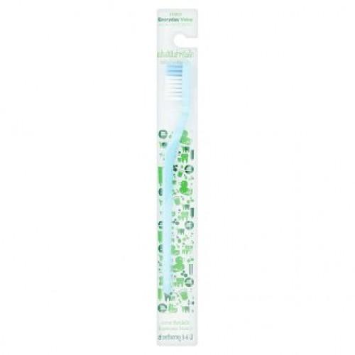Детская зубная щетка на каждый день для детей 3-6 лет Tesco Everyday Value 3-6yrs Baby Toothbrush 1 шт