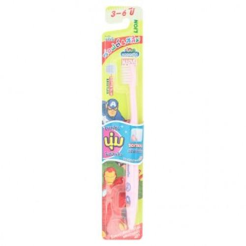 Детская зубная щетка для детей 3-6 лет Kodomo Soft & Slim