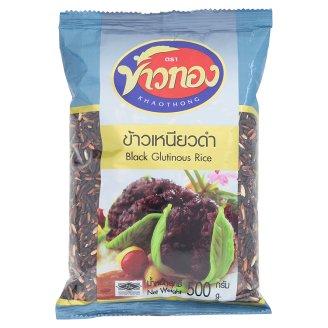 Черный рис клейкий Khaothong 500 гр