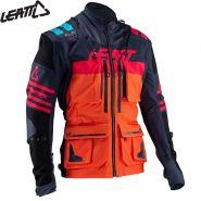 Мотокуртка Leatt GPX 5.5, Сине-оранжевая