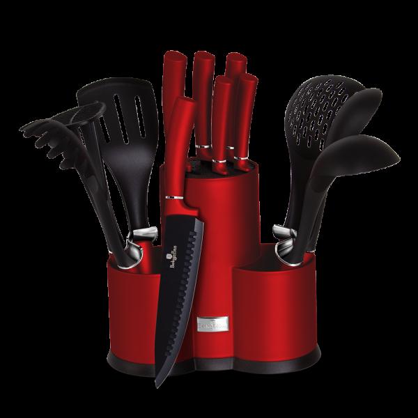 BH-6248 Набор ножей на подставке 12 пр.