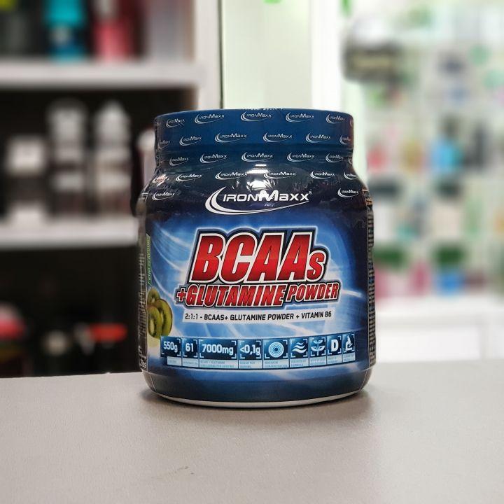 IronMaxx - BCAAs + Glutamine (550 г)