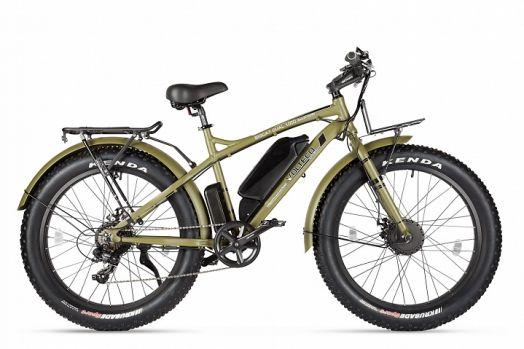 Велогибрид VOLTECO BIGCAT DUAL NEW Армейский зеленый