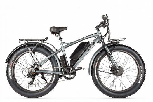 Велогибрид VOLTECO BIGCAT DUAL NEW Темно серый