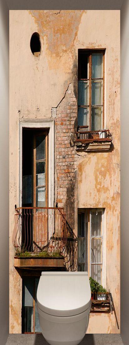 Фотообои в туалет - Балкон