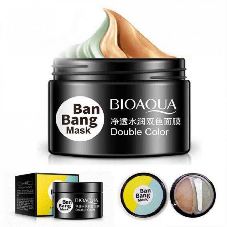 Очищающая и подтягивающая двойная маска для лица Bioaqua BanBang Mask