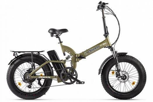 Велогибрид Eltreco TT Max Хаки