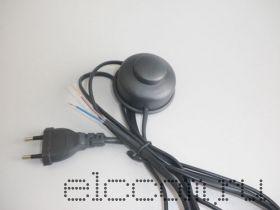 Шнур сетевой для бра с напольным переключателем