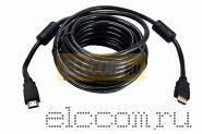 Шнур HDMI - HDMI gold, 2М, с фильтрами REXANT
