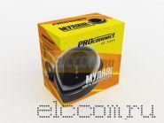 Муляж внутренней купольной камеры видеонаблюдения черного цвета с мигающим красным светодиодом ProConnect