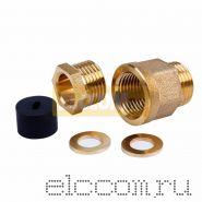 Сальник с резьбой 1/2 для ввода кабеля в трубу Proconnect