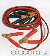 Шнур сетевой для зарядки аккумуляторов с клеммами 300 А (автомобильные провода для прикуривания