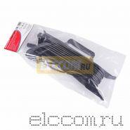Удлинитель на рамке 10м (1 роз.) 3х0.75 с заземлением черный REXANT (Сделано в РОССИИ)