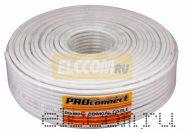Кабель RG-6U (75 Ом) 100м белый PROCONNECT