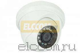Купольная камера AHD 1. 0Мп (720P), объектив 3. 6 мм. , ИК до 20 м.