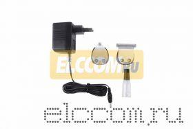 Машинка-триммер аккумуляторная для стрижки домашних животных GTS CW 301; 5 Вт, 3 насадки