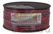 Кабель акустический 2х1.0 мм2 100м (красно-черный) PROCONNECT