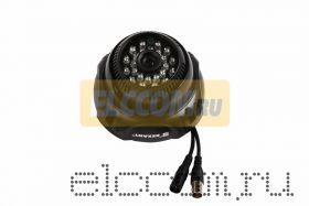 Купольная камера видеонаблюдения 960H с ИК-подсветкой