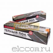 Теплый пол (нагревательный МАТ) REXANT Extra, площадь 1, 0 м2 (0, 5 х 2, 0 метра), 160Вт, (двух жильный)