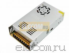 Источник питания компактный 12V DC, 34A, 400W с разъёмами под винт, без влагозащиты (IP23) REXANT