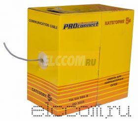 Кабель UTP 4PR 24AWG CAT5e 305м LT PROCONNECT