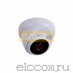Купольная камера AHD 2. 1Мп Full HD (1080P), объектив 2. 8 мм. , встроенный микрофон, ИК до 20 м.