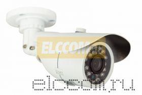 Цилиндрическая уличная камера IP 1. 0Мп (720P), объектив 3. 6 мм. , ИК до 20 м.