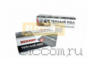 Тёплый пол (нагревательный мат) REXANT Classic RNX -2, 5-375 (площадь 2, 5 м2 (0, 5 х 5, 0 м)), 375 Вт, двухжильный с экраном