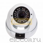 Купольная уличная камера AHD 2. 1Мп (1080P), объектив 2. 8-12мм. , ИК до 30 м.