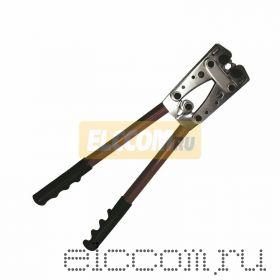 Кримпер для обжима силовых наконечноков и гильз, 6, 10, 16, 25, 35, 50 мм2, (HT-2515) (TL-2515) (HX-50B) REXANT