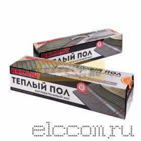 Теплый пол (нагревательный МАТ) REXANT Extra, площадь 5, 0 м2 (0, 5 х 10, 0 метров), 800Вт, (двух жильный)