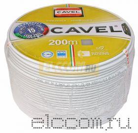 Кабель SAT 703-2G (75 Ом) 200м серый CAVEL