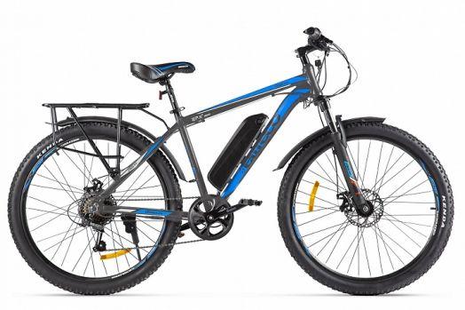 Велогибрид Eltreco XT 800 new Серо голубой