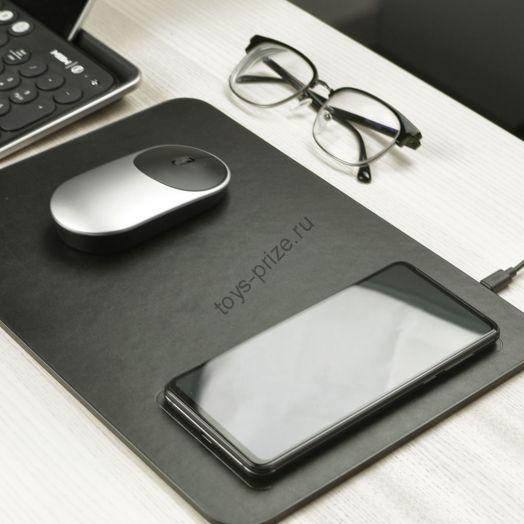 Коврик для мыши с беспроводной зарядкой Xiaomi MIIIW Wireless Charging Mouse Pad
