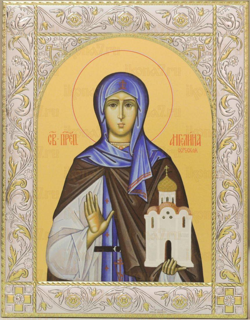 Икона Ангелина Сербская блаженная (14х18см)