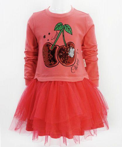 "Платье для девочки Bonito ""Cherry"" с фатином"