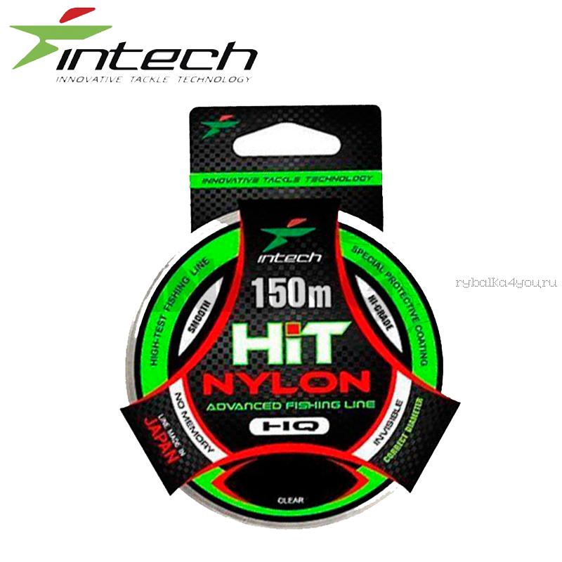 Леска монофильная Intech Hit Nylon 150 м / Цвет: прозрачный