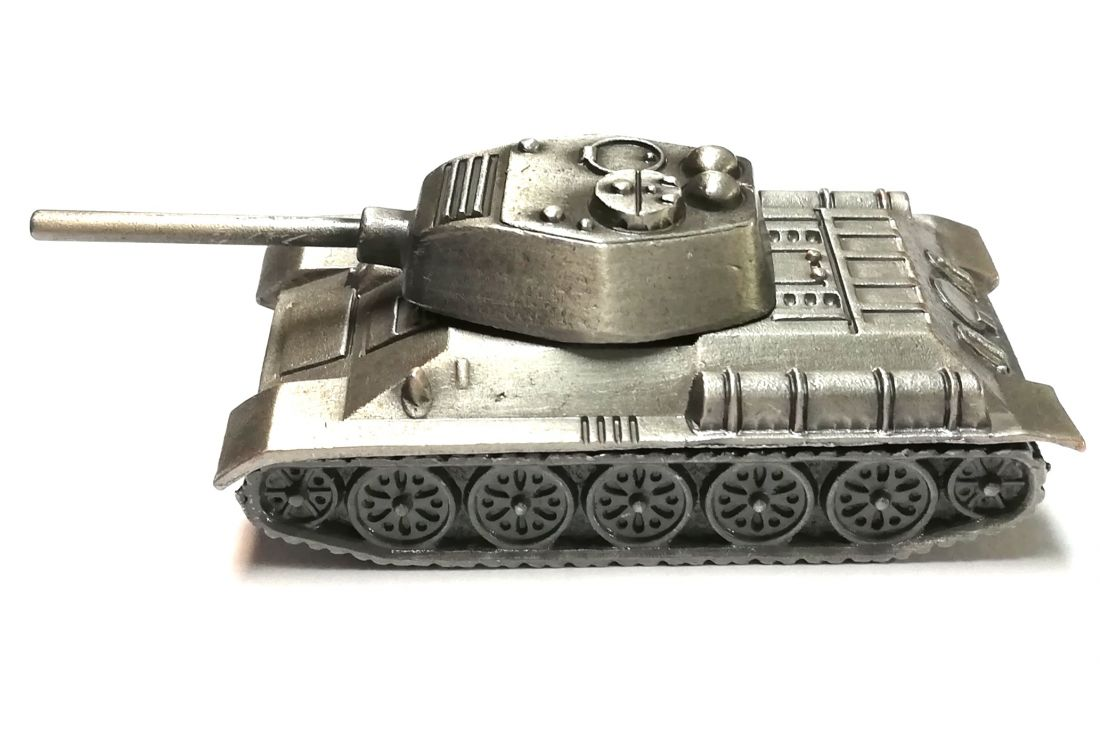 Модель Танк Т 34 металлический