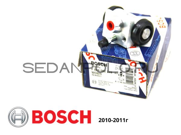 Тормозной цилиндр Оригинал BOSCH под барабан Volkswagen Polo Sedan