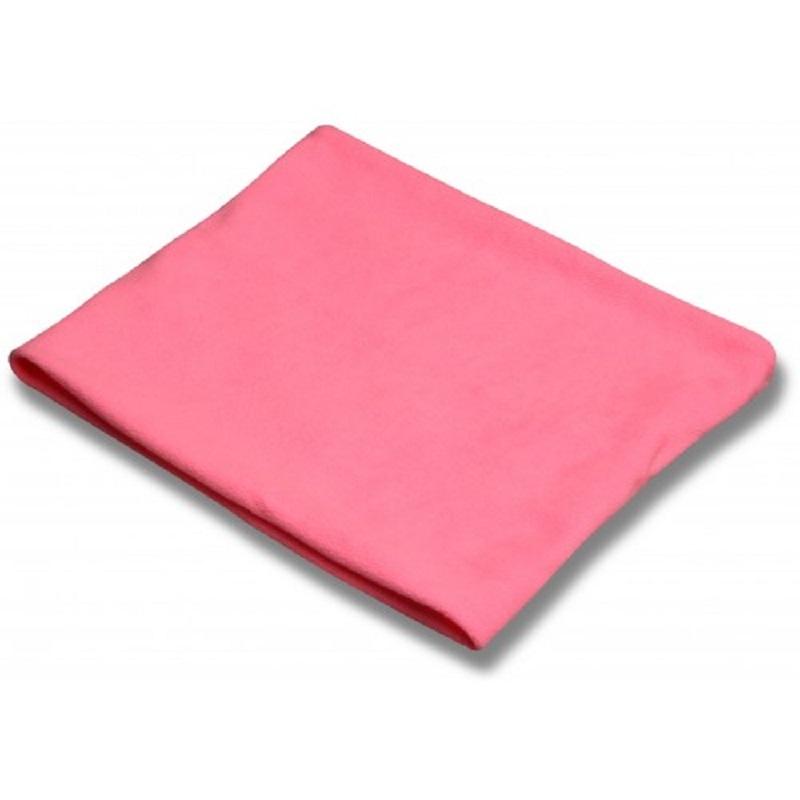 Пояс для разогрева INDIGO SM-152 флисовый розовый